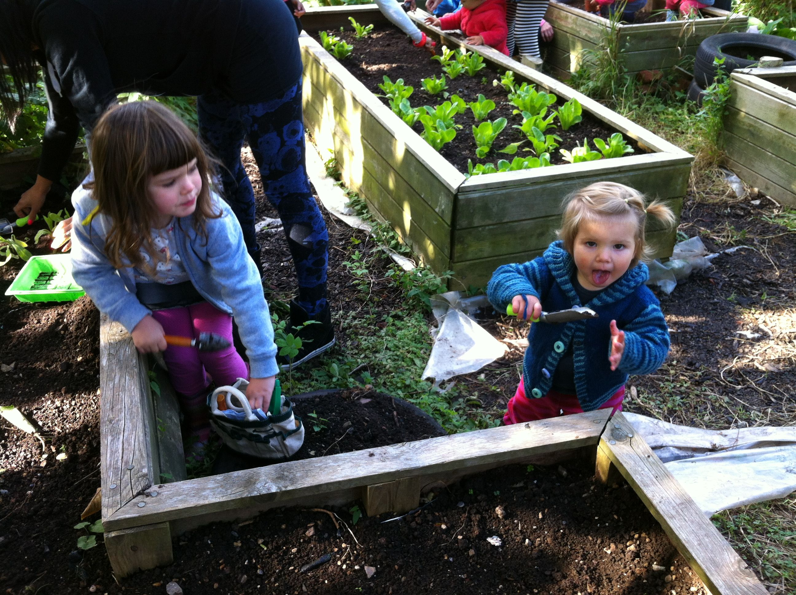 Why do children need to learn gardening
