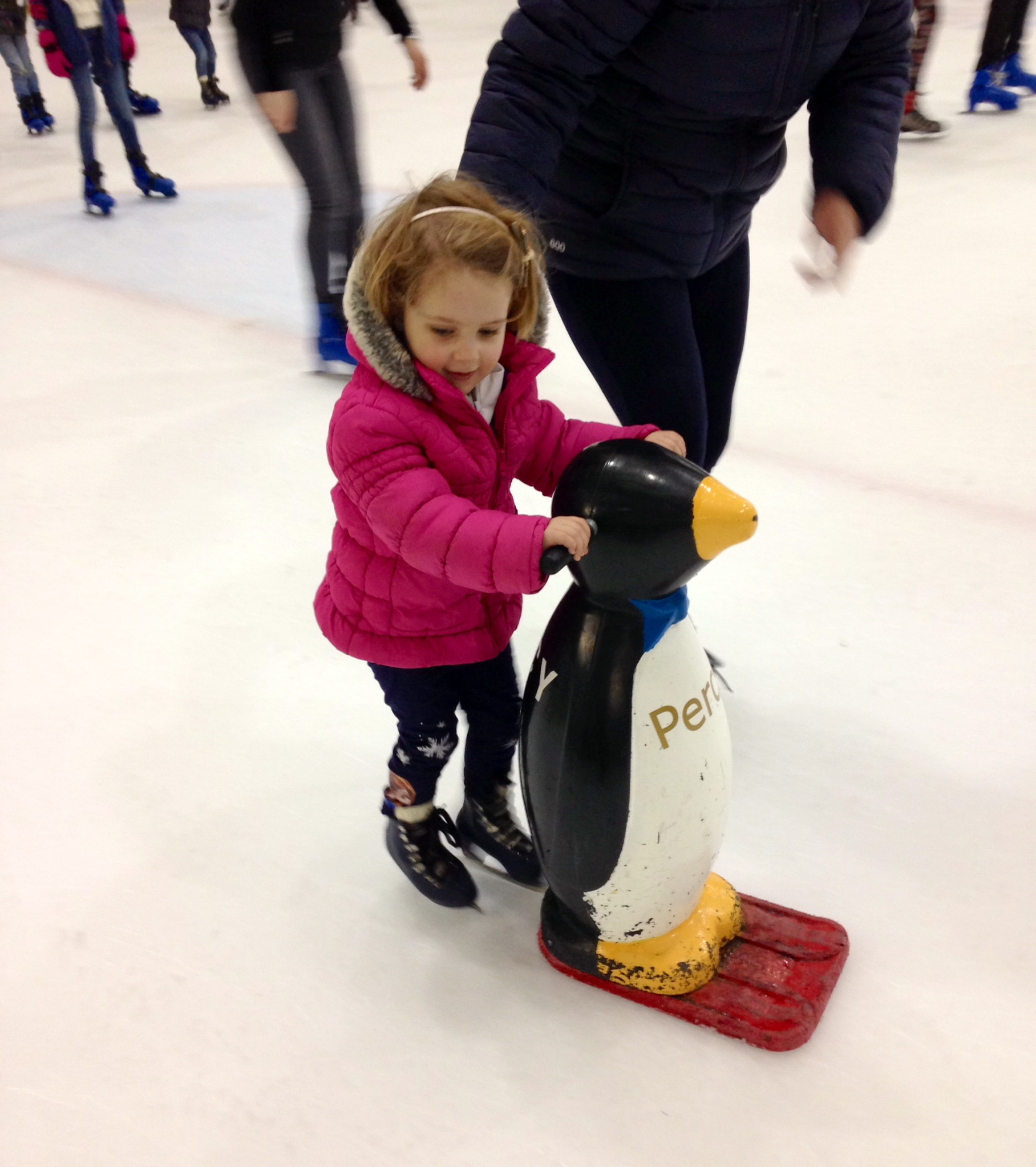 A First Ice Skating Experience For My Kids At Swindon Ice