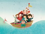 Arthur's Dream Boat Puppet Image