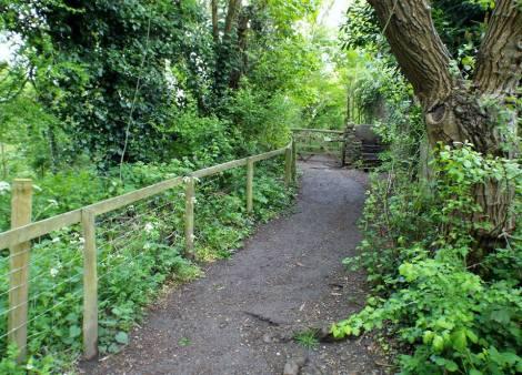 Buggy Walks Wilsbridge Mill pathway