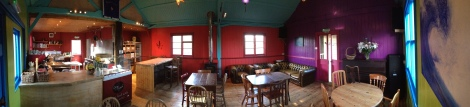 Yarde Orchard Cafe Panorama