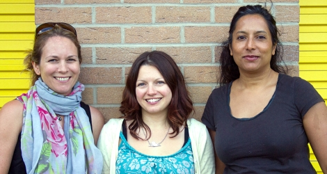 Melissa Burgers - Becky Gilbert - Eva Fernandes founders of the Bristol Baby Bank (1)