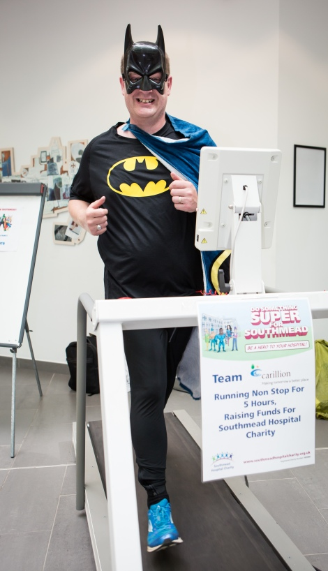 Do Something Super for Southmead event at Southmead Hospital, Bristol. Daniel Bell (Carillion); Monday 22nd June 2015; ©Barbara Evripidou2015; m: 07879443963; barbara@firstavenuephotography.com