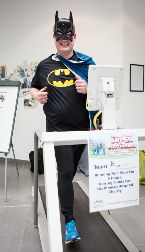 Do Something Super for Southmead event at Southmead Hospital, Bristol. Daniel Bell (Carillion); Monday 22nd June 2015; ©Barbara Evripidou2015; m: 07879443963; barbara@firstavenuephotography.com