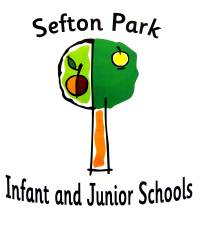 School logo with text