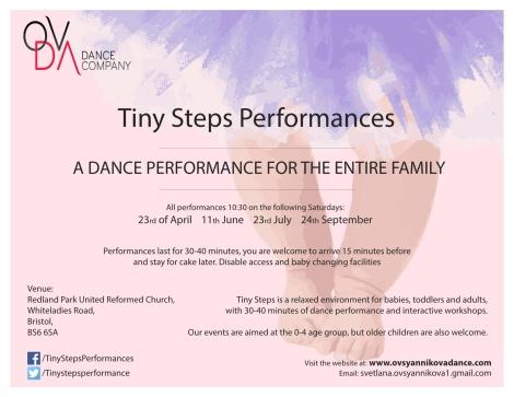 Tiny Steps performance- side 1