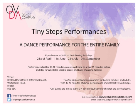 Tiny Steps performance- side 1