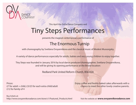 Tiny Steps performance-side2