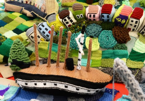 The amazing City of Briswool in all its woolly splendour at MShed Date: 04/10/14 Photographer: Michael Lloyd/Freelance 07720782684 Reporter: Copyright: Local World
