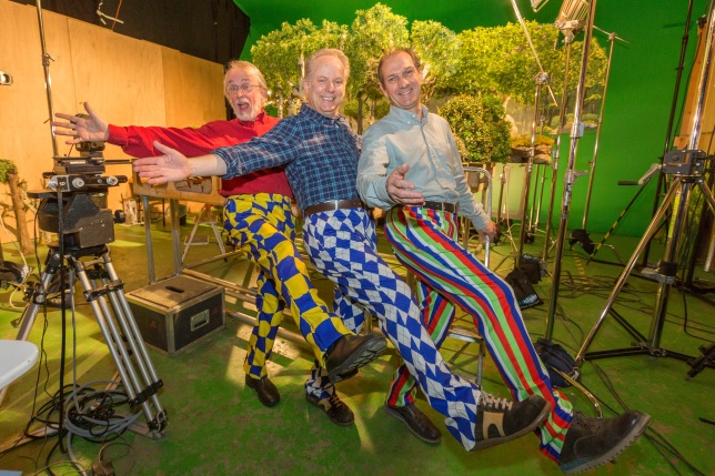 Peter Lord%2c Nick Park and Dave Sproxton Wrong Trousers Day 1