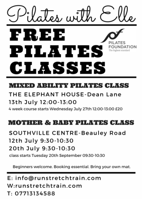free classes july 2016