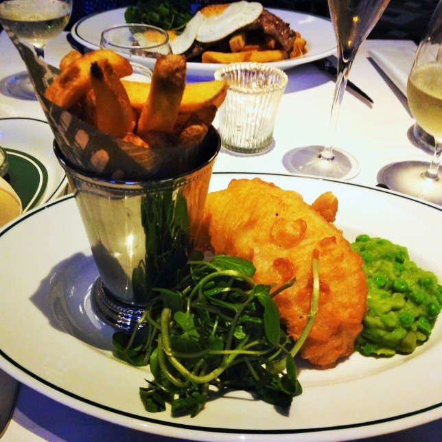 Ivy fish chips