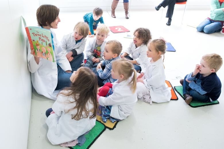 Image result for 2-5 year olds story time class